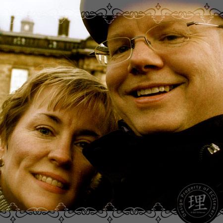 Lisa & Andrew on Honeymoon