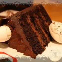 5th Year Anniversary Cake CloseUp